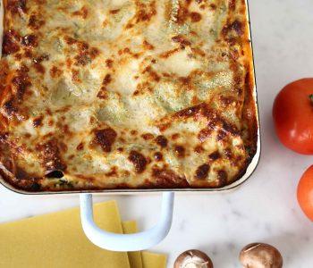 Lasagne vegan und glutenfrei